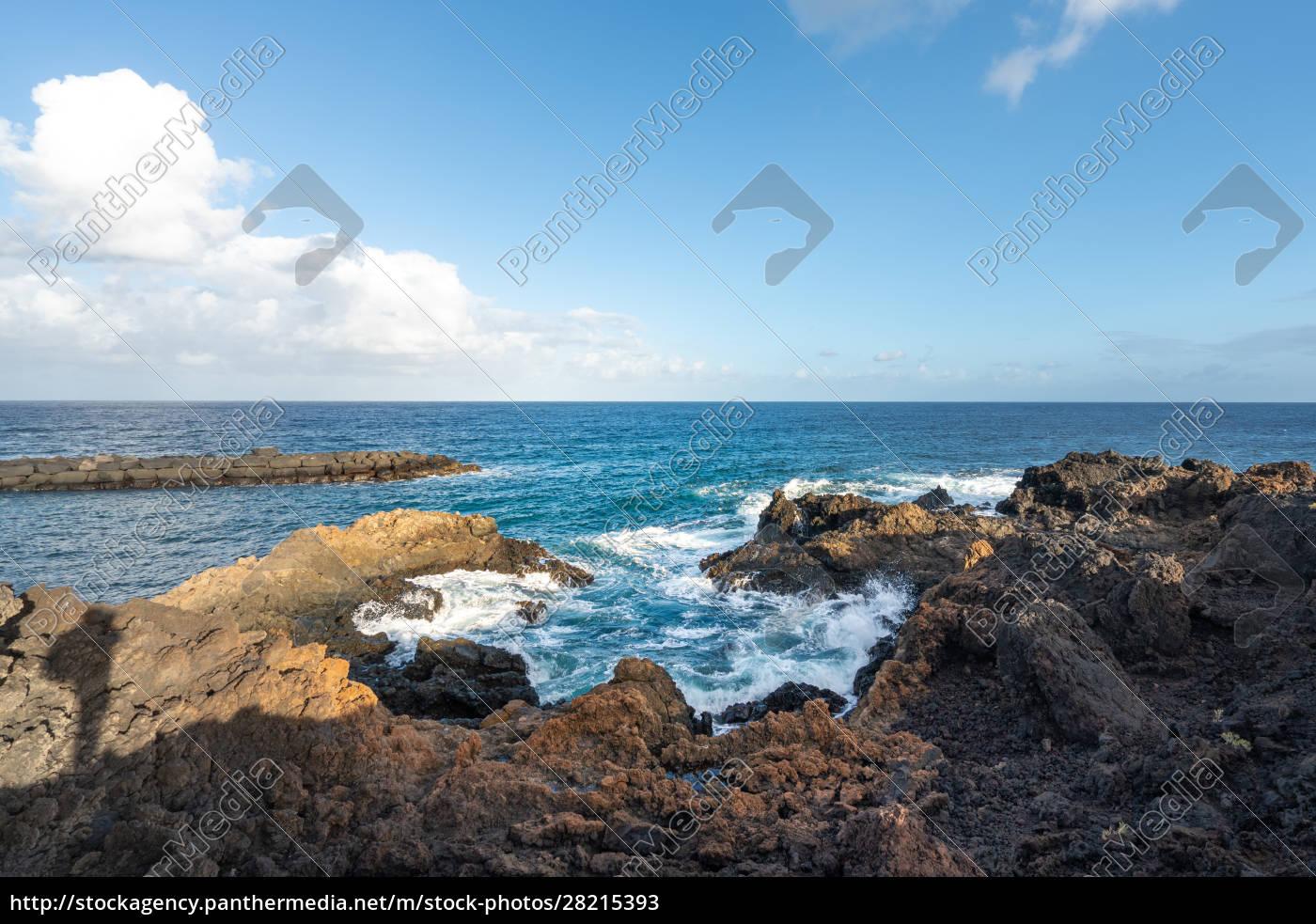 coast, on, lanzarote - 28215393