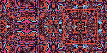 colorful, symmetrical, repeating, pattern, tile - 28215350