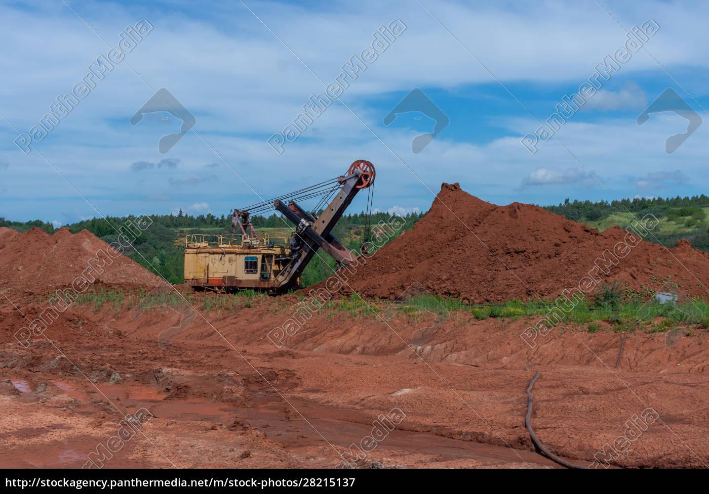 giant, excavator, machinery, industry - 28215137