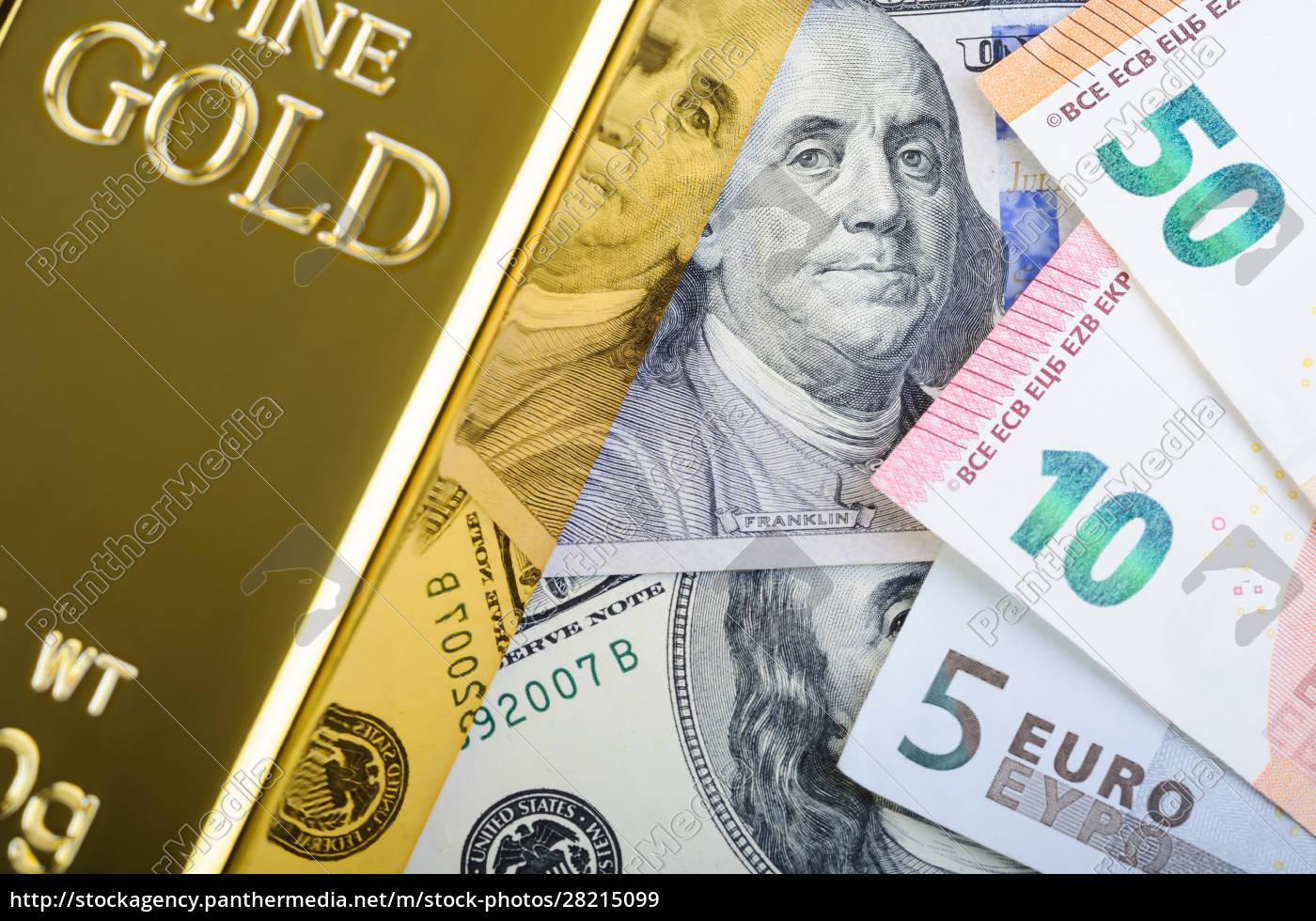 gold, bar, ingot, bullion, against, the - 28215099