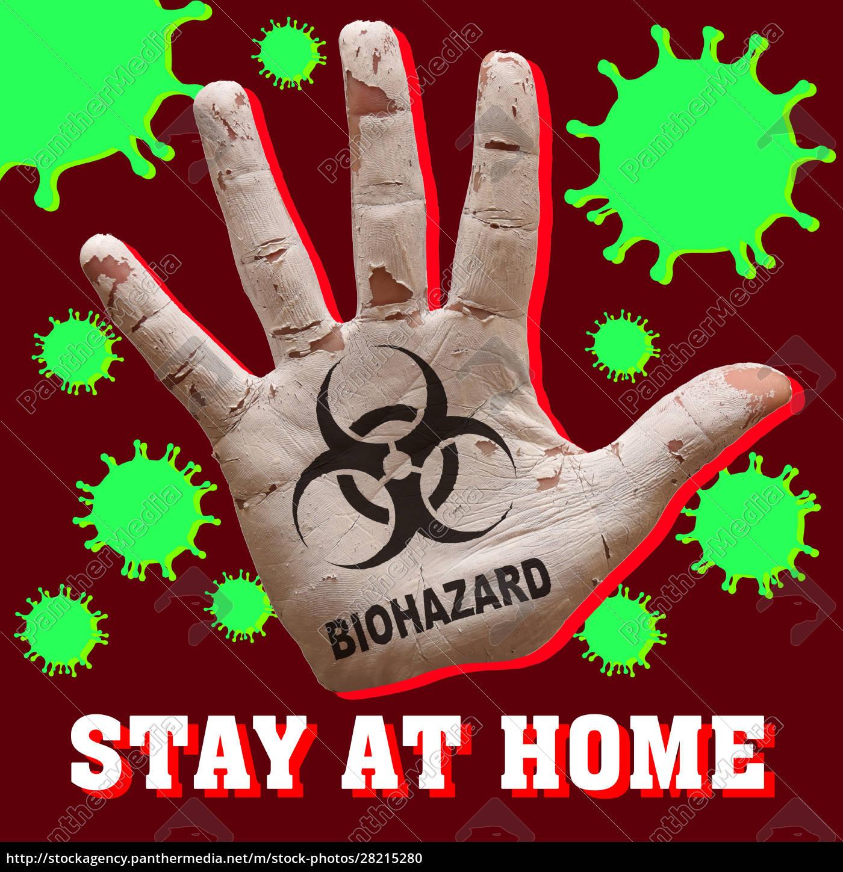 palm, virus, , biohazard - 28215280