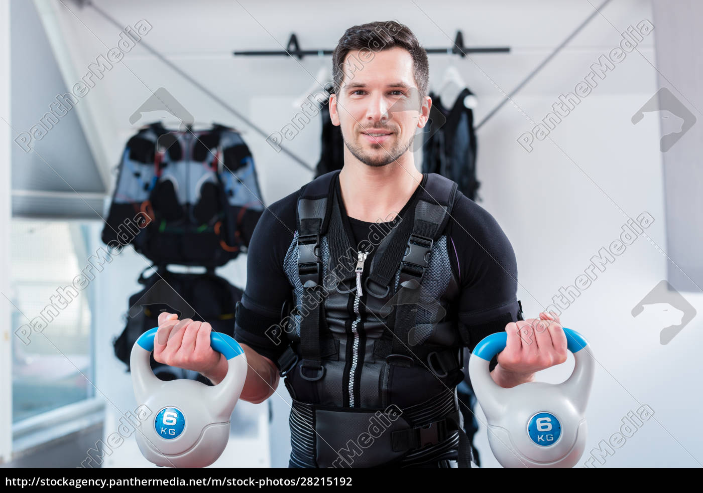 strong, man, in, ems, gym, doing - 28215192
