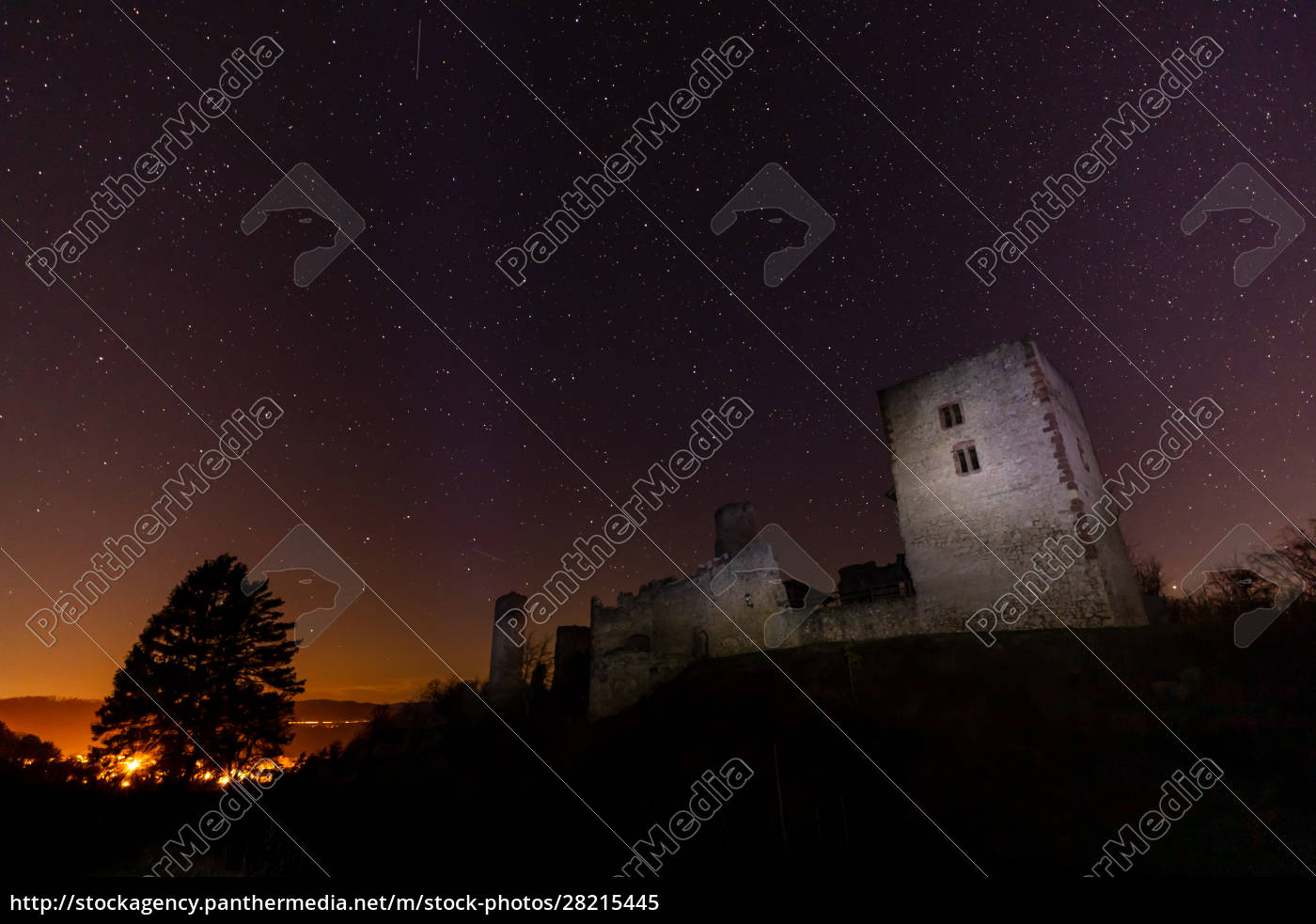 the, ruine, of, brandenburg, castle, at - 28215445