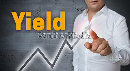 yield, touchscreen, is, operated, by, man - 28215950