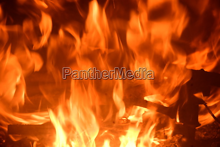fire, in, the, fireplace, , log, fire, - 28216880