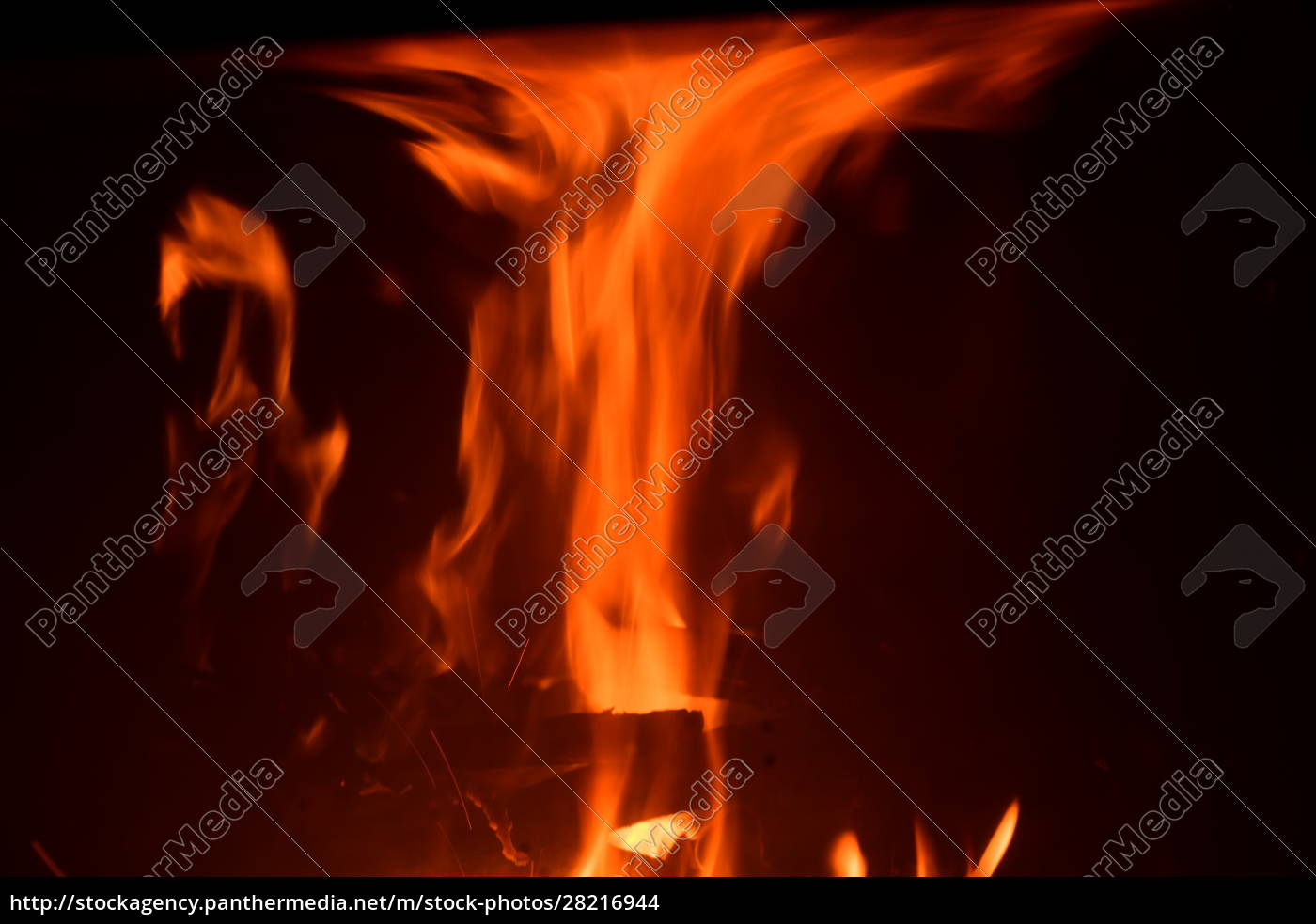 fire, in, the, fireplace, , log, fire, - 28216944