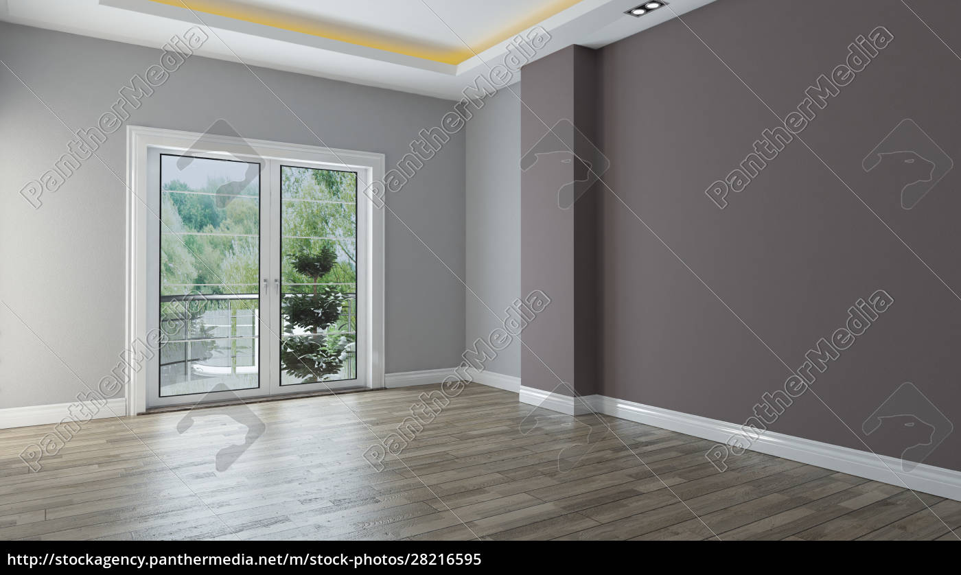 two, color, wall, empty, room, interior - 28216595