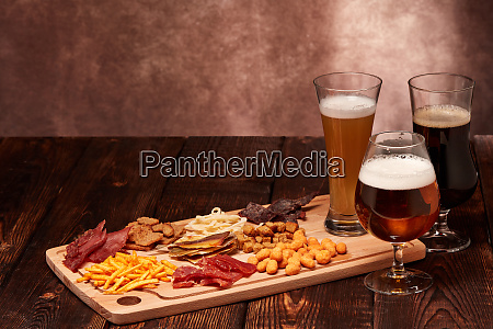 beer, and, snacks - 28217764