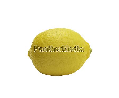 fresh, lemon, isolated, on, white, background. - 28217615