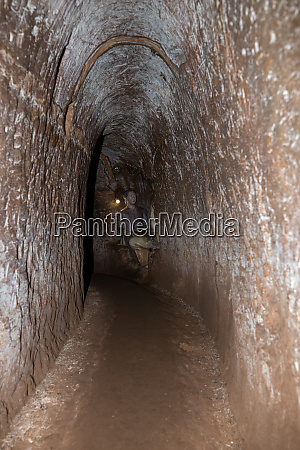 the tunnel and bunker of vinh