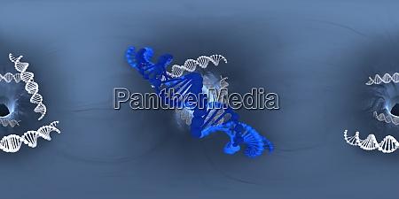 3d illustration of dna deoxyribonucleic acid