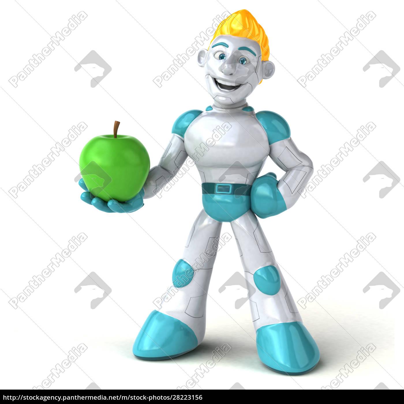 robot, -, 3d, illustration - 28223156