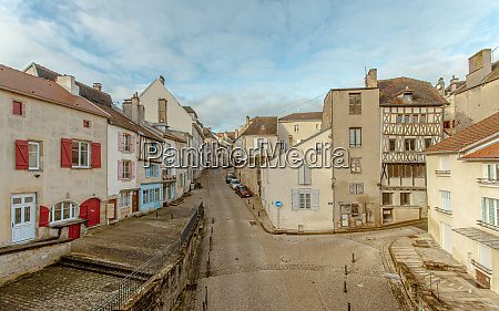 langres historic city in champagne ardenne