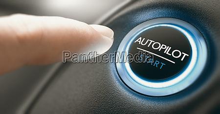 car autopilot switch button