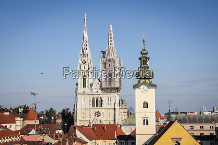 zagreb, hit, by, the, earthquake, damaged - 28228940
