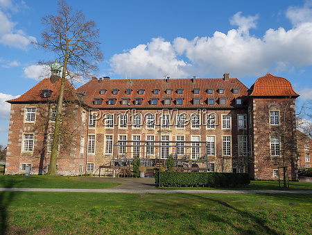 small castle in the germany muensterland