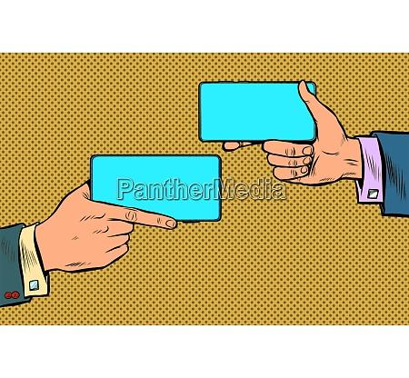 duel business negotiations business online communication