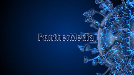 microscope virus cell pandemic bacteria pathogen