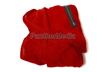 red jumper worker suit
