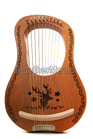 stringed lyre musical instrument