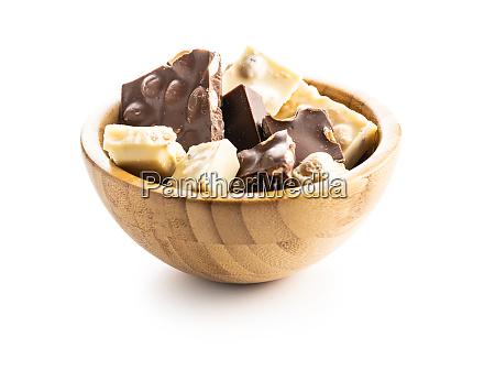 dark nut chocolate