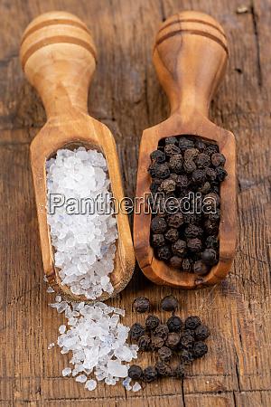 close up of coarse crystal salt
