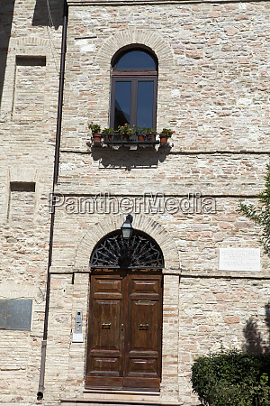 assisi medieval town