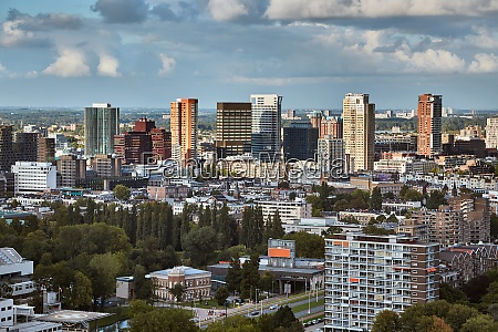 rotterdam panoramic view