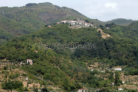barga a medieval hilltop town in