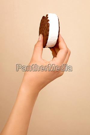 biscuit ice cream sandwich