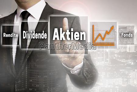 aktien in german shares dividend fund