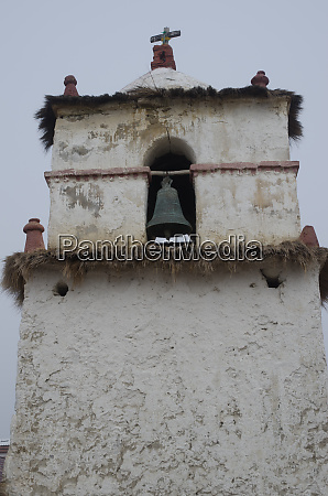 bell tower of the parinacota church