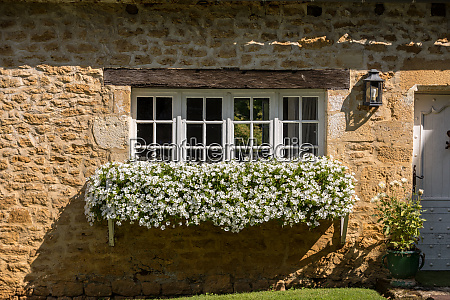 a, beautiful, old, stone, house, with - 28257735