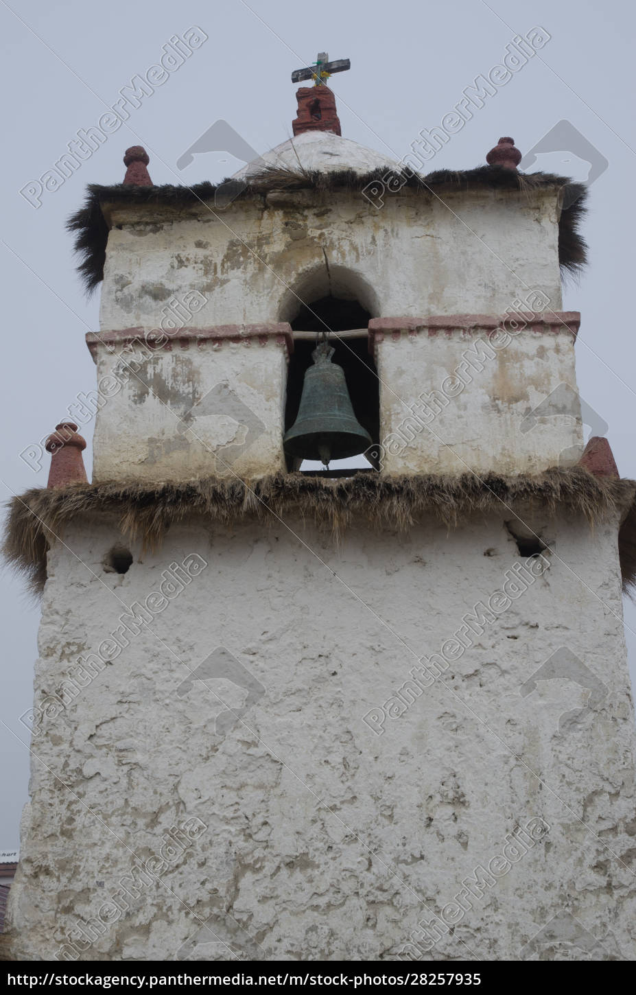 bell, tower, of, the, parinacota, church - 28257935