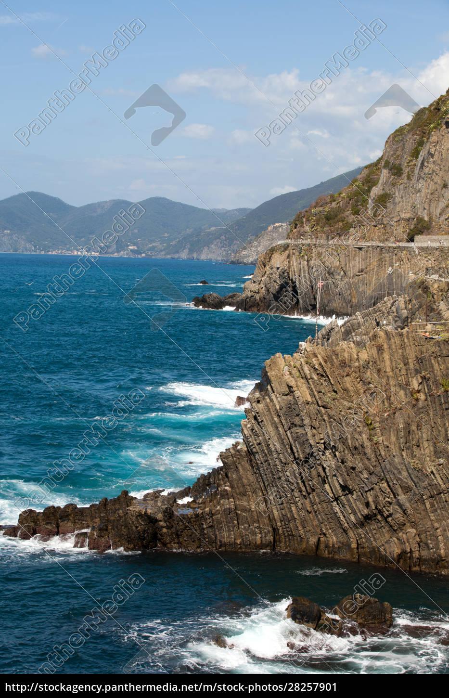 cliffs, in, riomaggiore., , cinque, terre, - 28257901