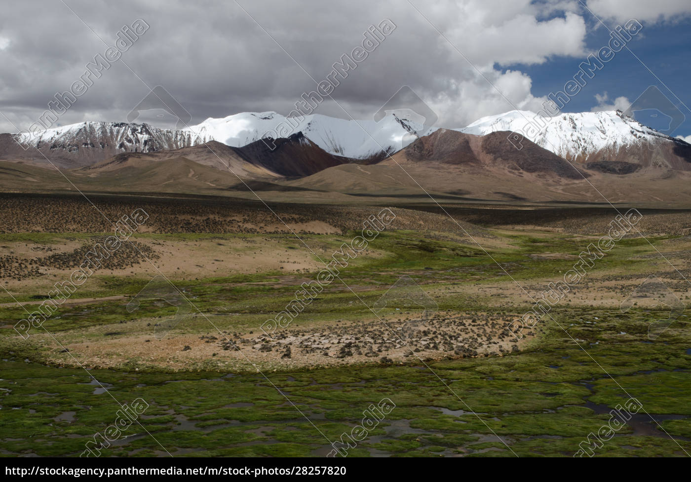 high, plateau, and, mountains, in, lauca - 28257820