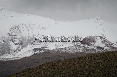 landscape, with, snowy, mountain, in, lauca - 28257781