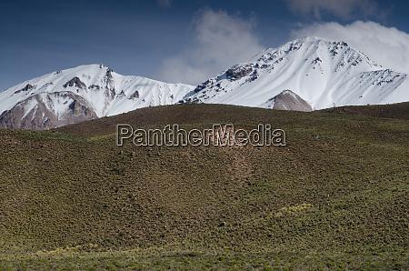snowy, peaks, in, the, lauca, national - 28257791