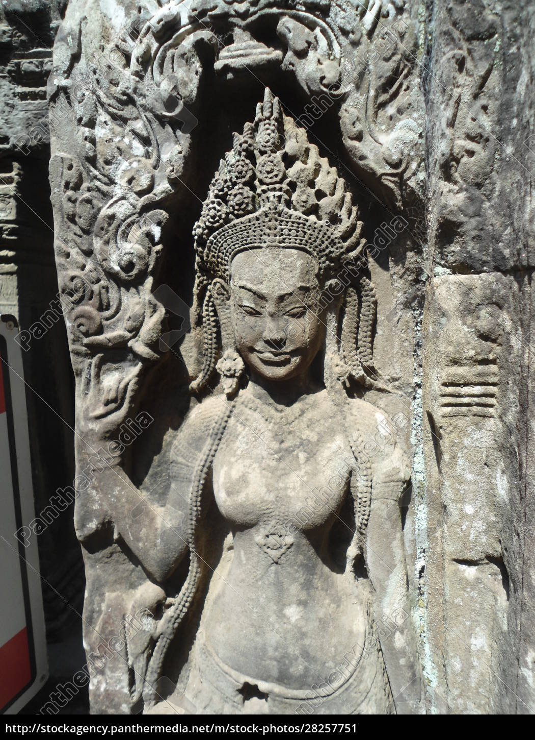 wall, sculptures, of, angkor, wat, cambodia - 28257751