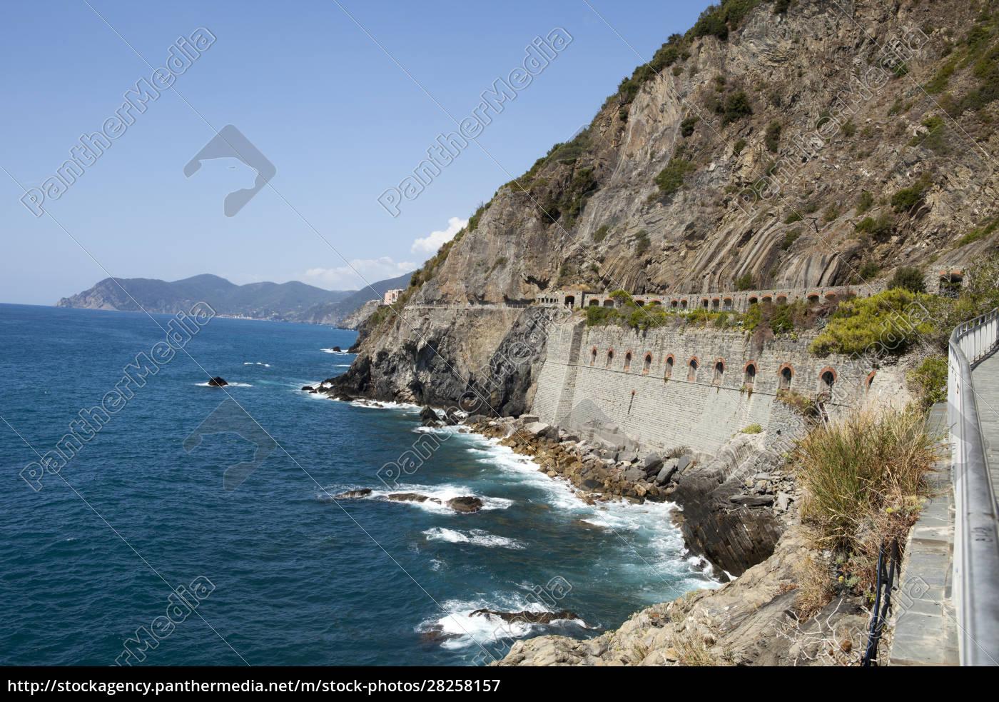 , cinque, terre, -, road, of - 28258157