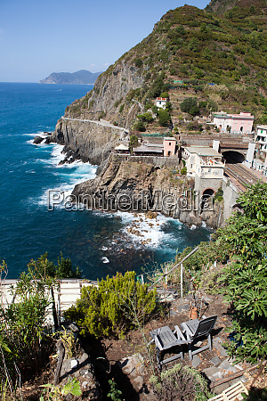 beautiful, coastline, in, cinque, terre, , liguria, - 28258084