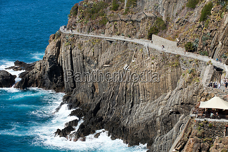 beautiful, coastline, in, cinque, terre, , liguria, - 28258120