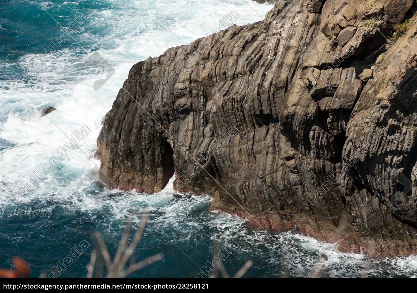 beautiful, coastline, in, cinque, terre, , liguria, - 28258121