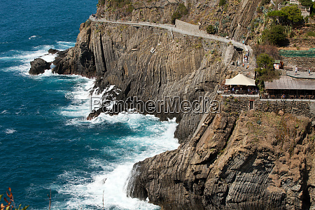 beautiful, coastline, in, cinque, terre, , liguria, - 28258182