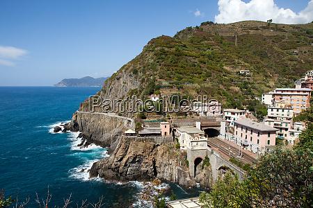 beautiful, coastline, in, cinque, terre, , liguria, - 28258185