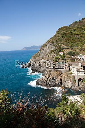 beautiful, coastline, in, cinque, terre, , liguria, - 28258186