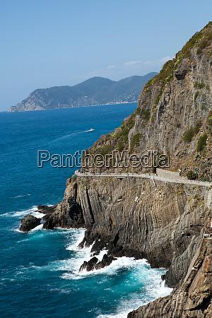 beautiful, coastline, in, cinque, terre, , liguria, - 28258187