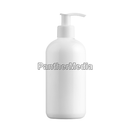 blank, cosmetic, dispenser, bottle, isolated, on - 28258431