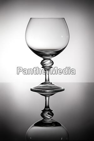 brandy, glass, in, backlight - 28258401