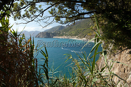 cinque, terre-coast, between, manarola, and, corniglia - 28258720